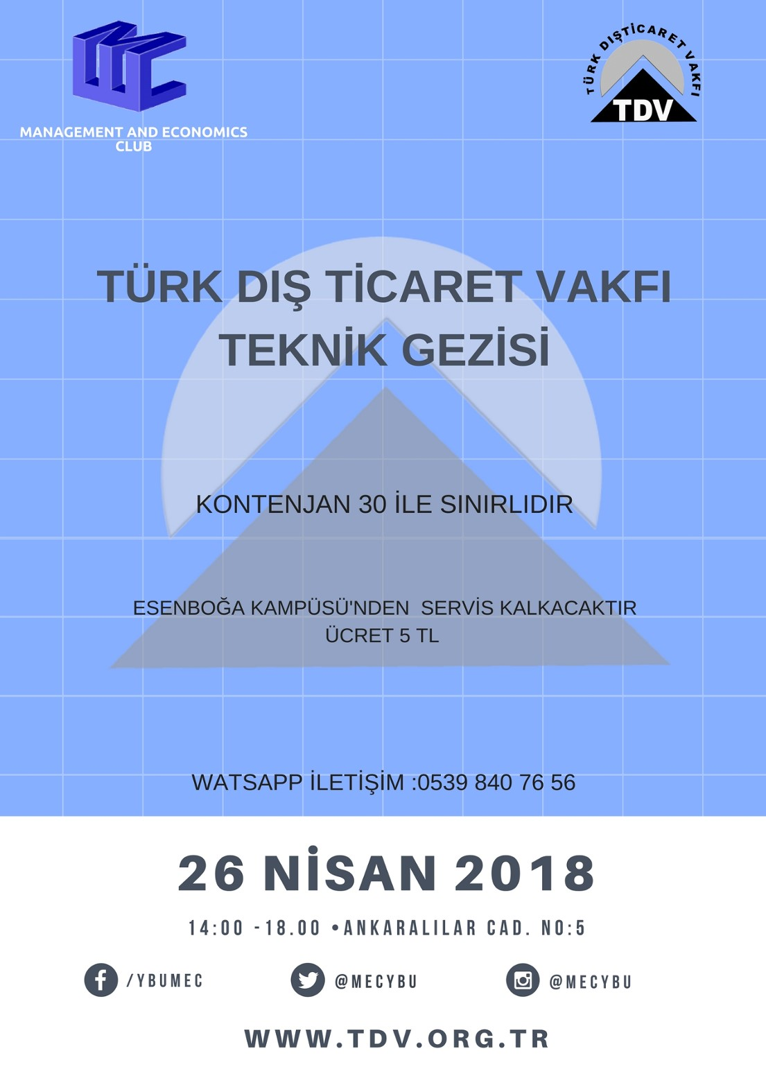 Türk Dış Ticaret Vakfı Teknik Gezisi