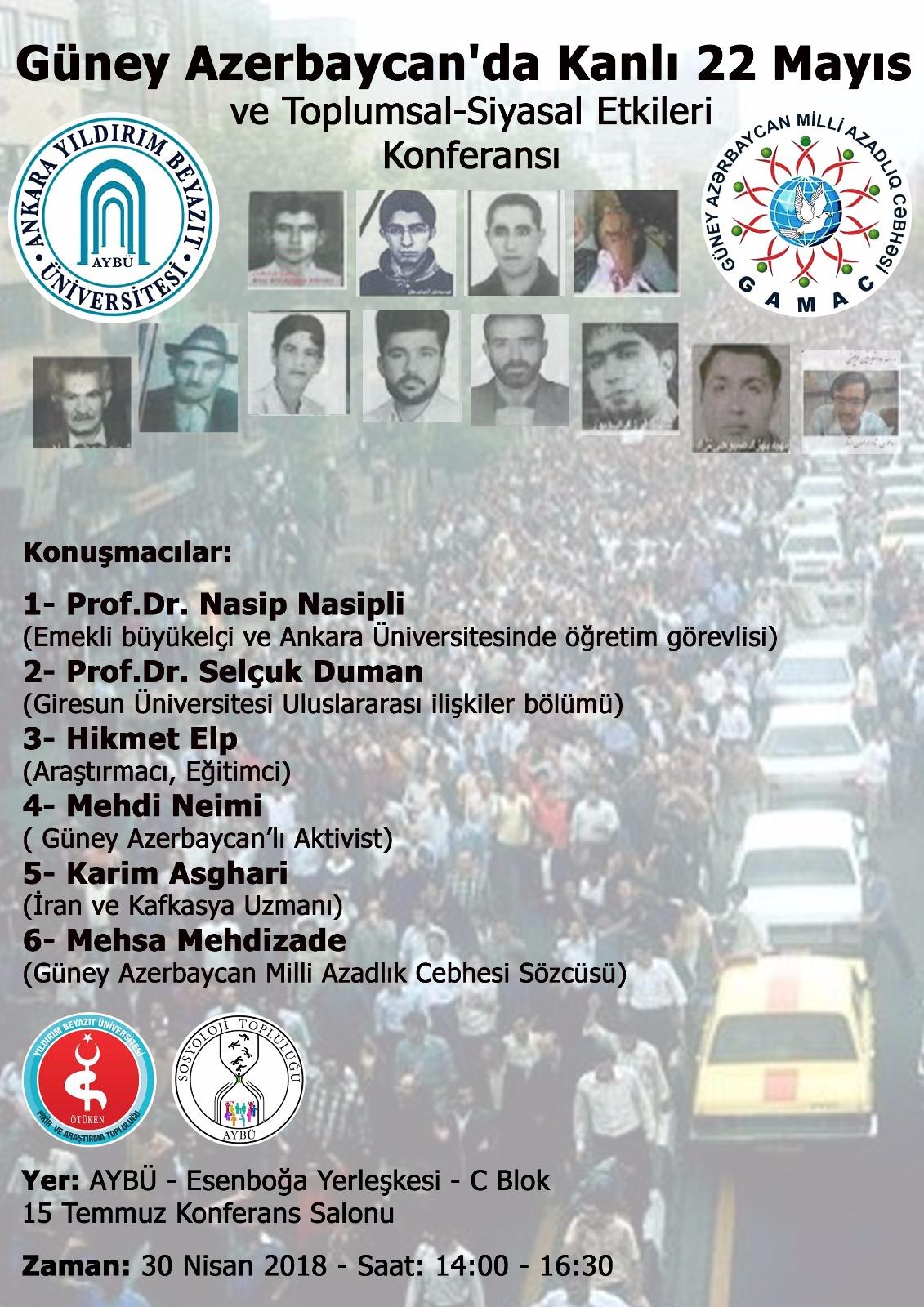 Kanlı 22 Mayıs Güney Azerbaycan