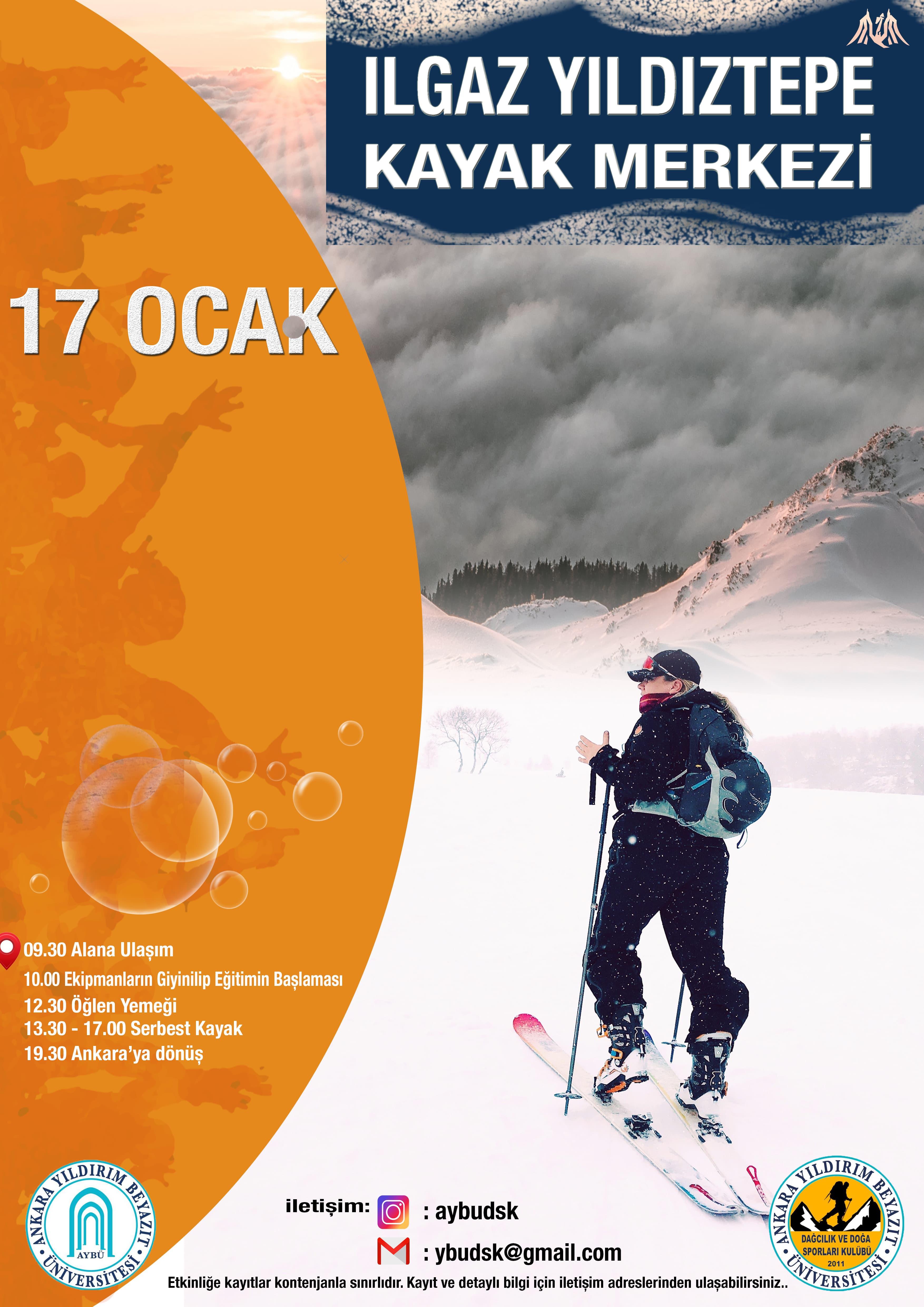 Yıldıztepe Kayak Faaliyet