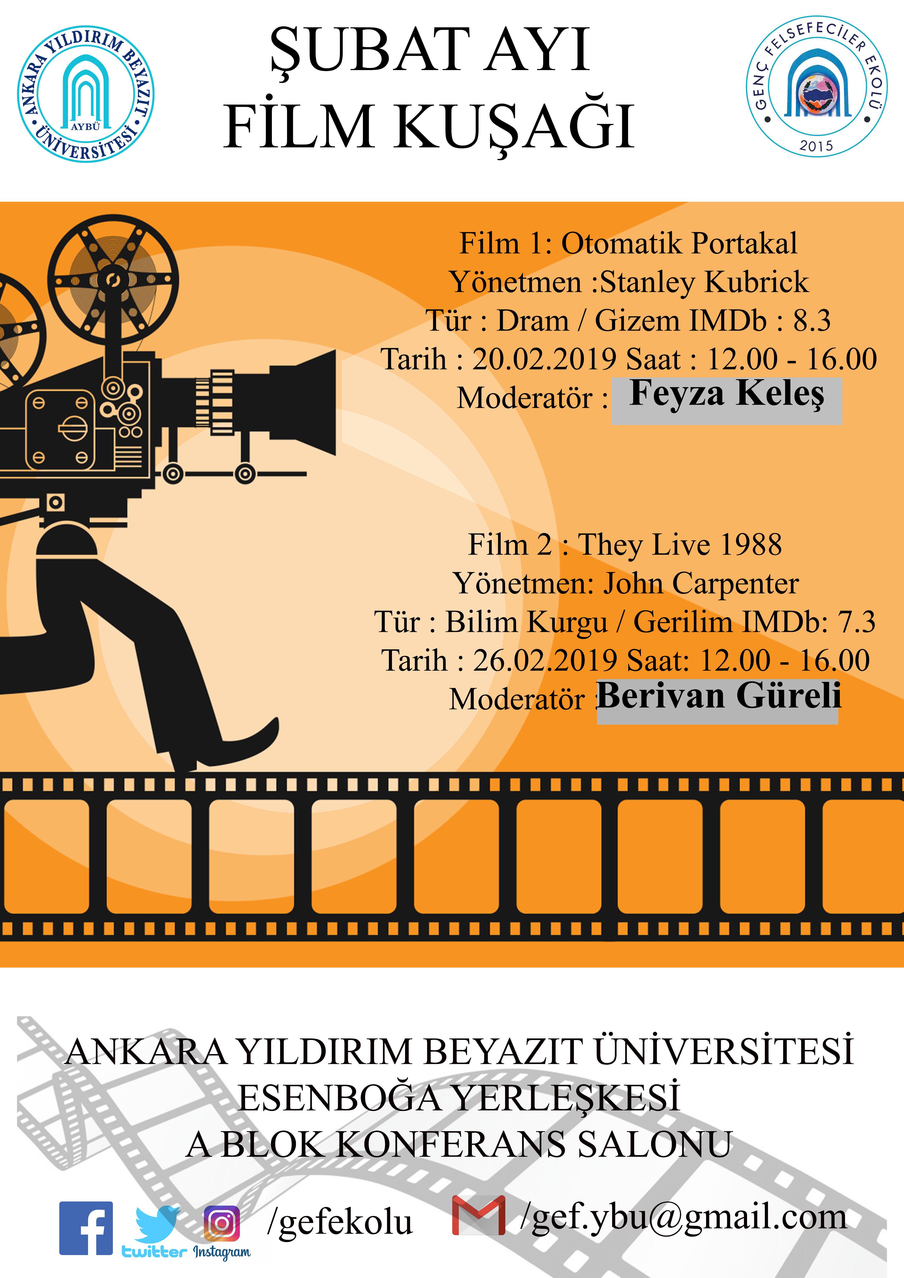 Film Gösterimi & They Live 1988