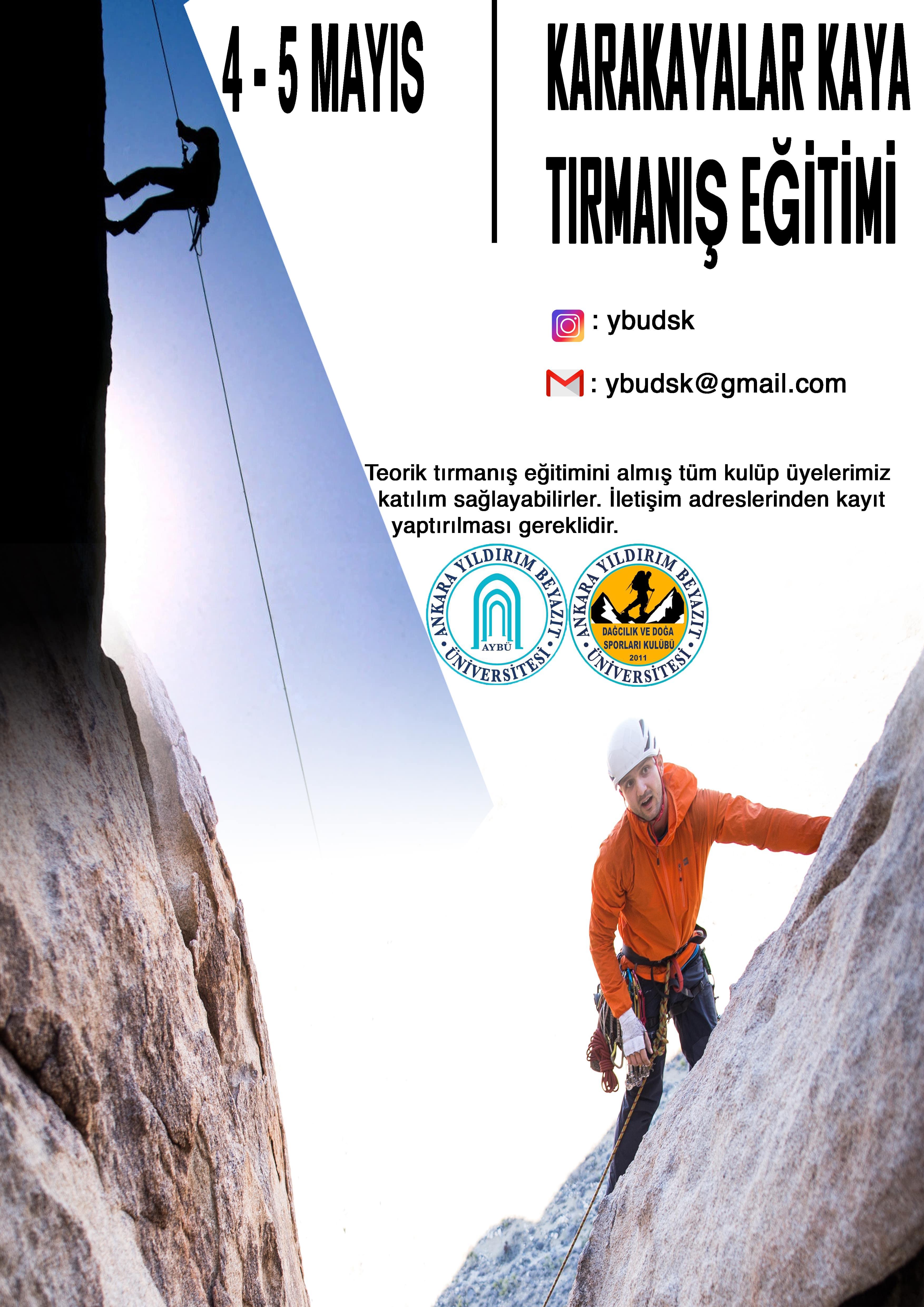 Karakayalar Kaya Tırmanışı
