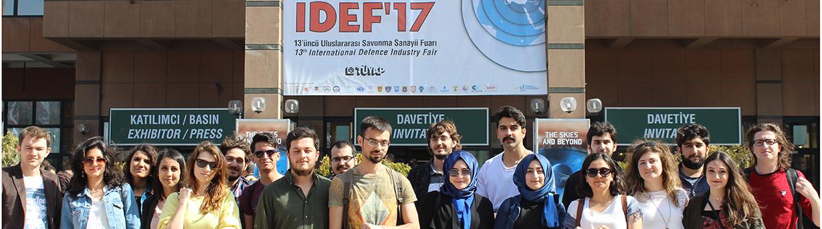 IDEF 2017 Fuarı