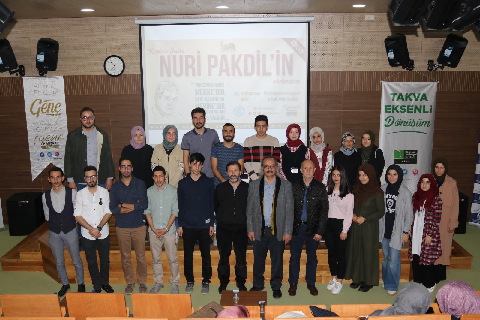 Nuri Pakdil'in Ardından